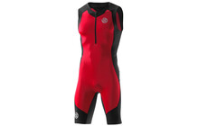 SKINS TRI400 Men&#039;s Compression Sleeveless Suit SM Rouge/Noir
